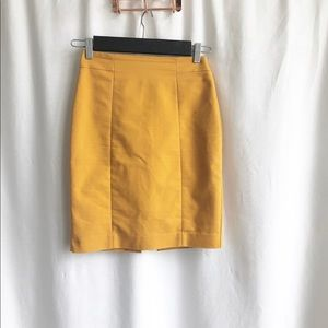 🌷3 FOR $25 SALE🌷 Not tag mustard colour skirt